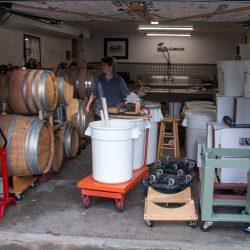 Racking Barrels
